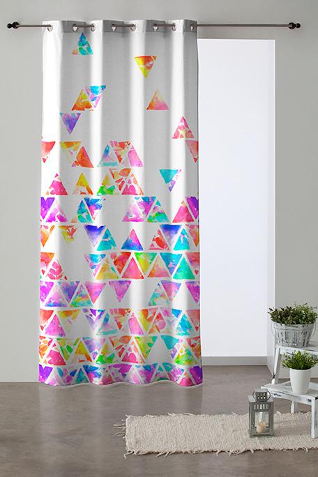 Cortina ollaos, modelo Pirámide