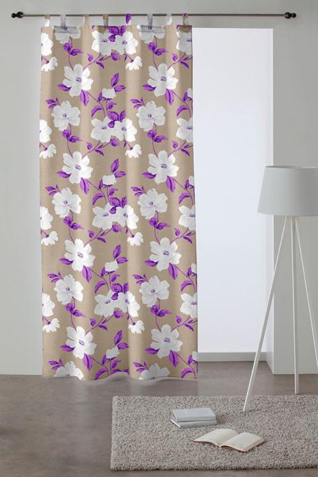 Cortina trabilla, modelo Esencia lila