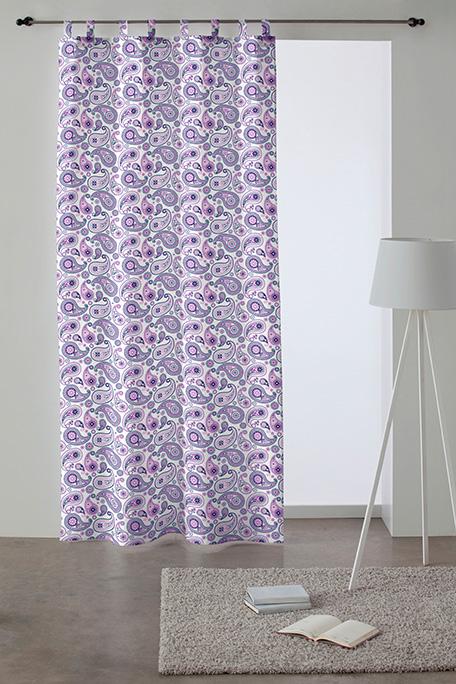 Cortina trabilla, modelo Ohio lila