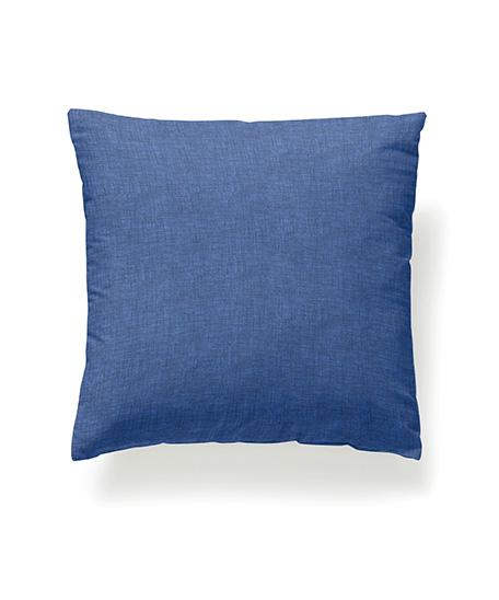 Funda cojín loneta, modelo Levante, azul