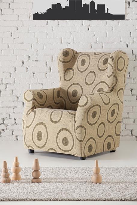 Funda de sillón orejero, modelo Marbella