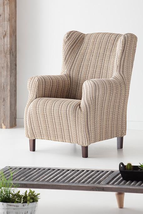 Funda de sillón orejero, modelo Méjico