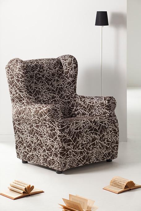 Funda de sillón orejero, modelo Nica