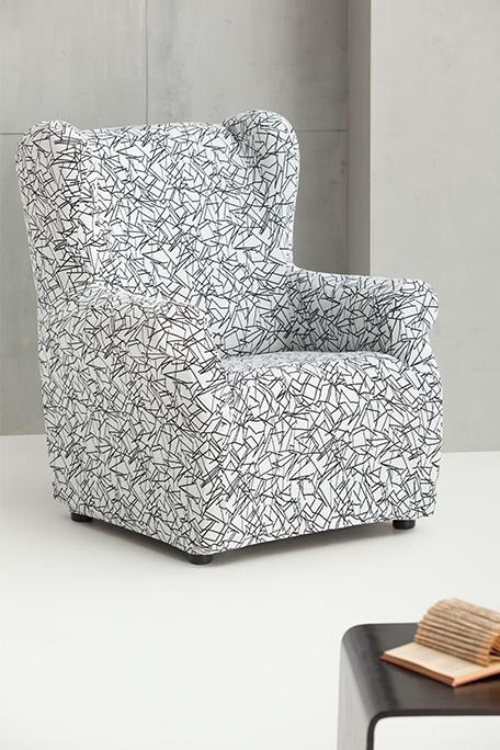 Funda de sillón orejero, modelo Sirocco