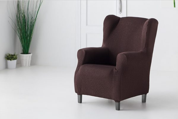 Funda de sillón orejero, modelo Túnez