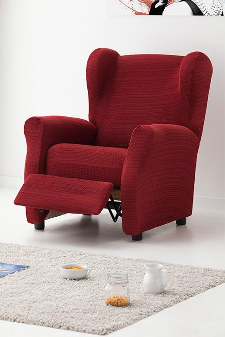 Funda de sillón relax, modelo Rústica
