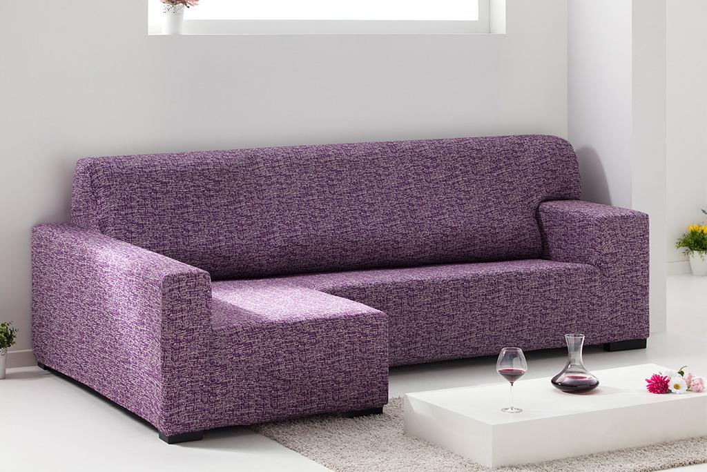 Funda de sof chaiselongue el stica modelo malta una - Fundas sofa elasticas ...