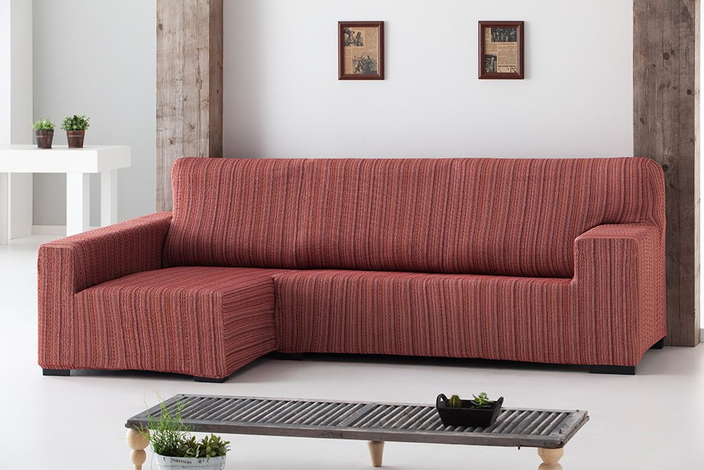 Funda de sofá chaiselongue elástica, modelo Méjico