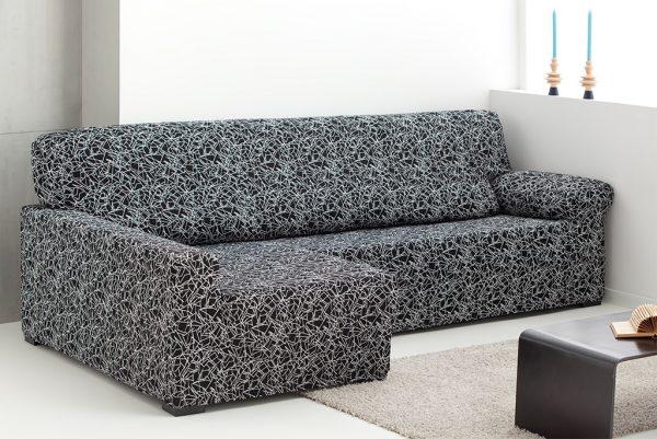 Funda de sofá chaiselongue elástica, modelo Sirocco
