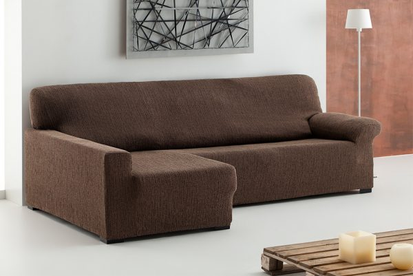 Funda de sofá chaiselongue elástica, modelo Tibet