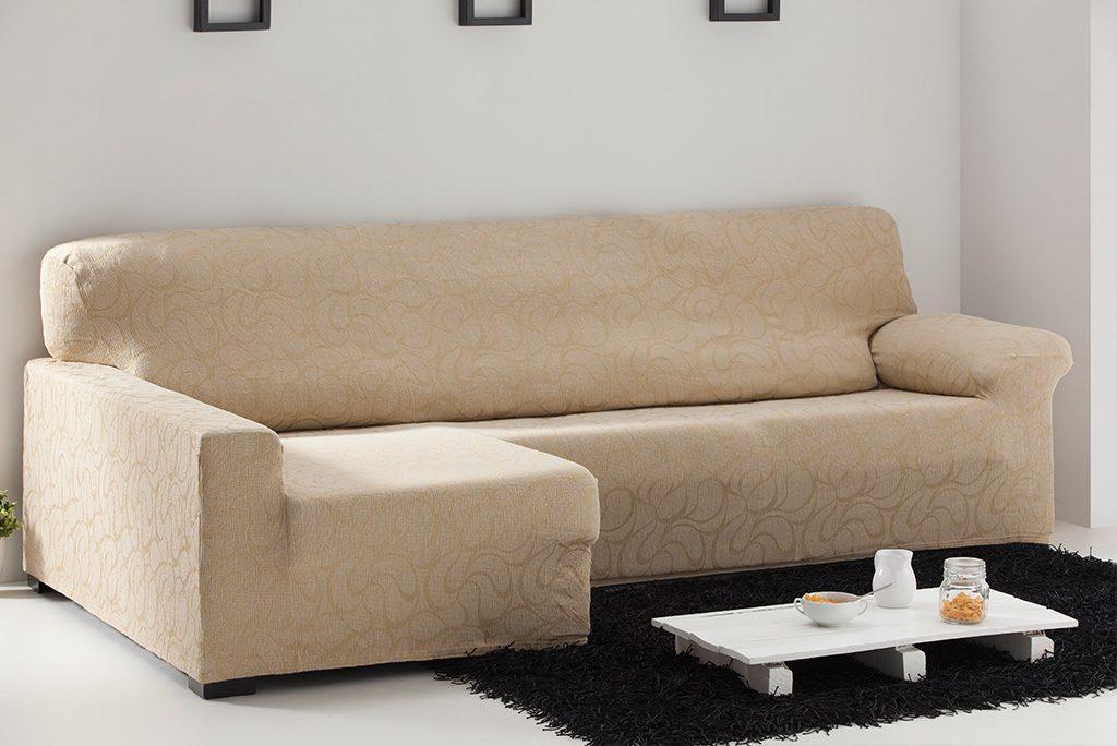 Funda de sofá chaiselongue elástica, modelo Tous