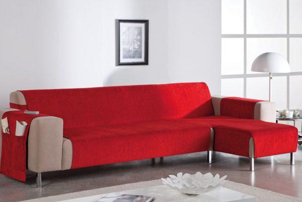 Funda de sofá chaiselongue, modelo Petra