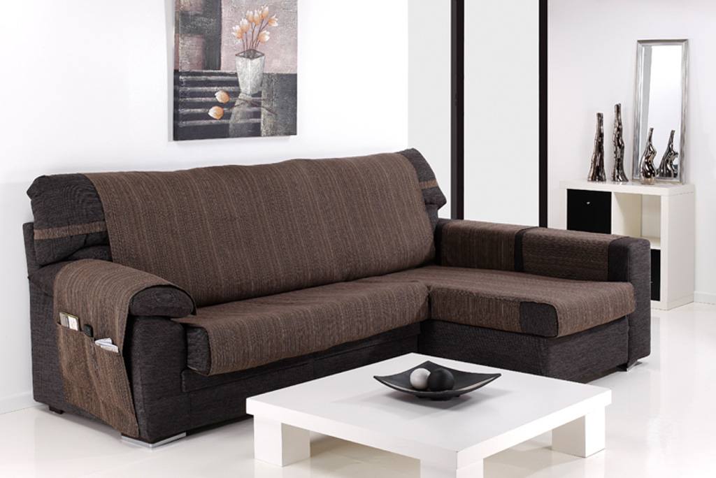 Funda de sof chaiselongue modelo ribera fundas sof al for Modelo sofa