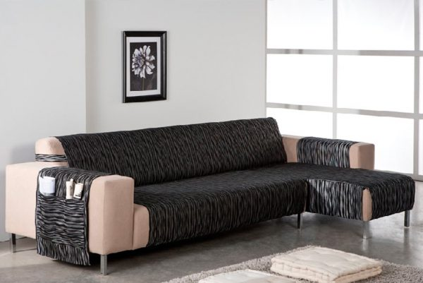 Funda de sofá chaiselongue, modelo Tuareg