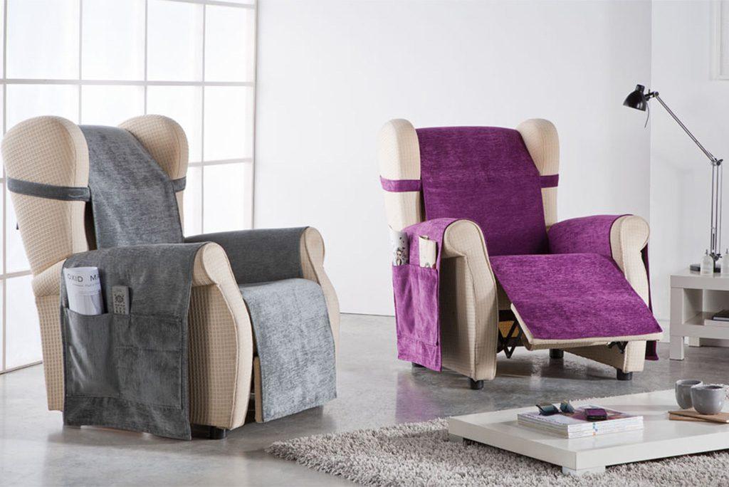 Funda cubresofá, sillón orejero, modelo Master
