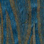 Funda elástica ajustable, modelo Isabela azul