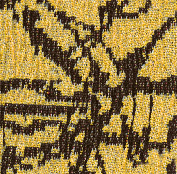 Funda elástica ajustable, modelo Nica amarillo