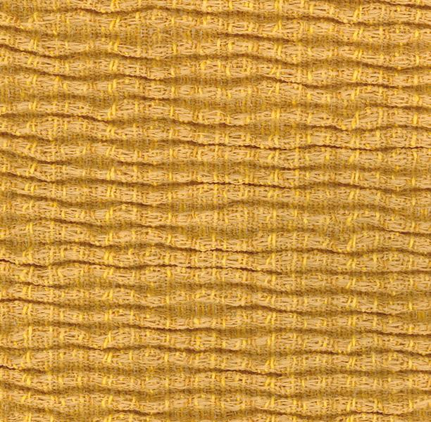 Funda elástica ajustable, modelo Rústica amarillo
