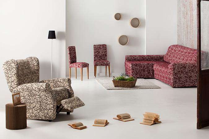 Fundas de sofá, ambiente Nica