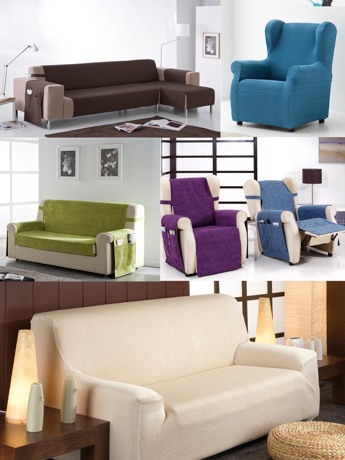 Fundas de sofa fundas de sof fundas sof el sticas telas por metros textil para el hogar - Fundasdesofa com ...