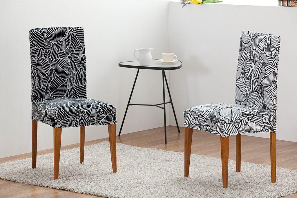 Funda para silla con respaldo modelo azores fundas para - Fundas asiento sillas comedor ...