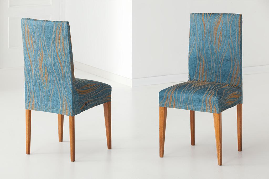 Funda para silla con respaldo modelo isabela fundas para - Fundas ajustables para sillas ...