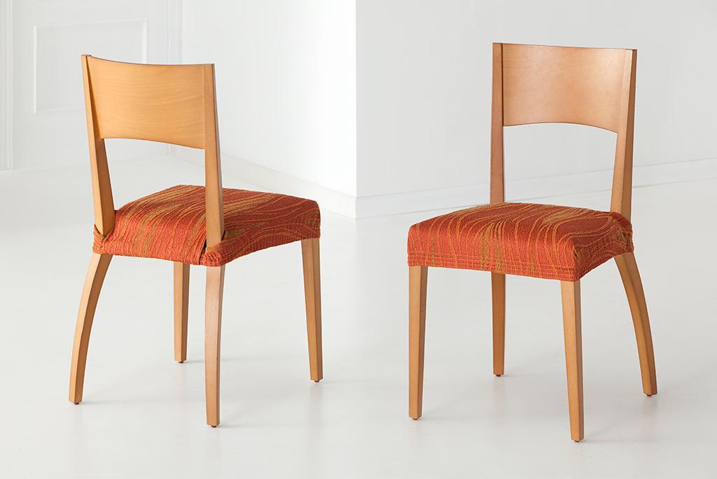 Funda para silla con respaldo modelo isabela fundas para sillas el sticas - Fundas elasticas para sillas ...