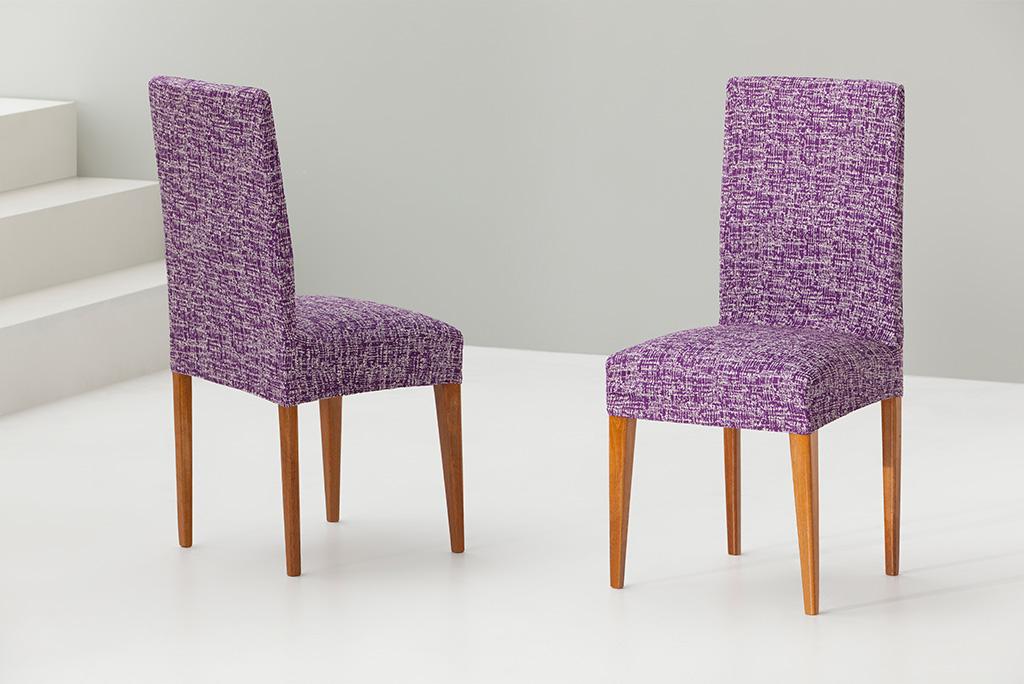 Funda para silla con respaldo modelo malta ideal para proteger sus sillas - Fundas elasticas para sillas ...