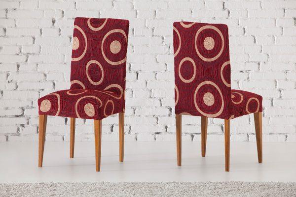 Funda para silla con respaldo, modelo Marbella
