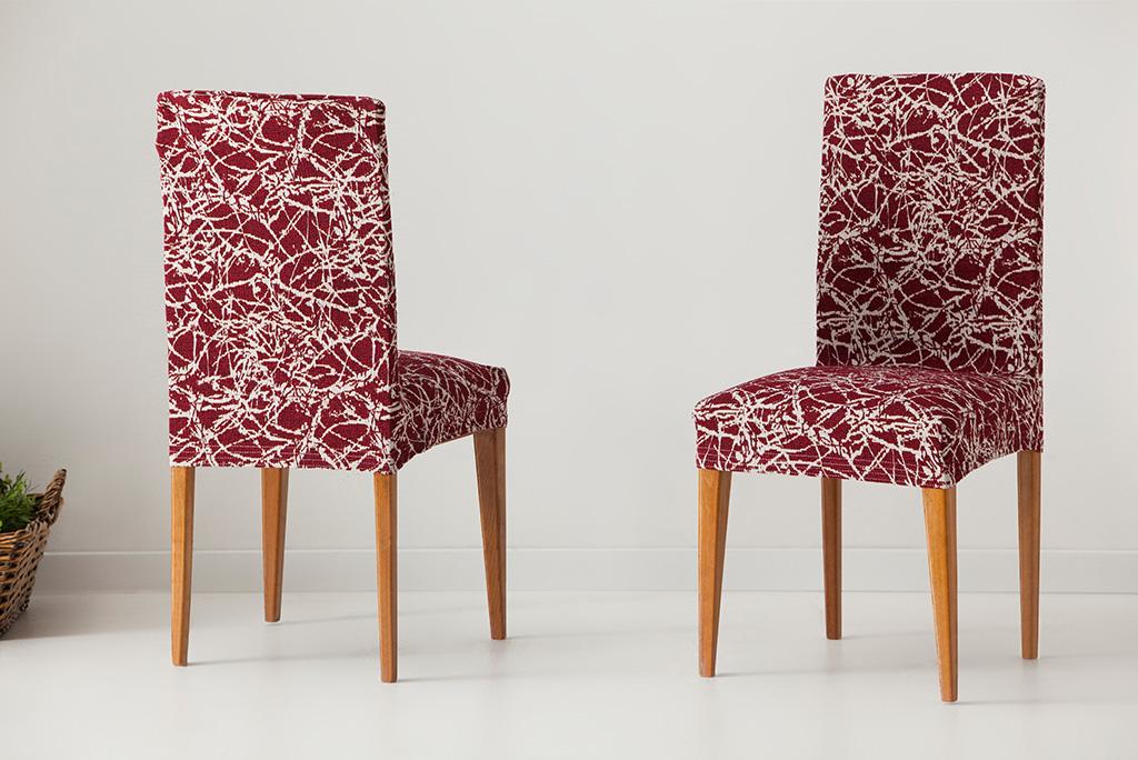 Funda para silla con respaldo modelo nica fundas el sticas ajustables - Fundas elasticas ...