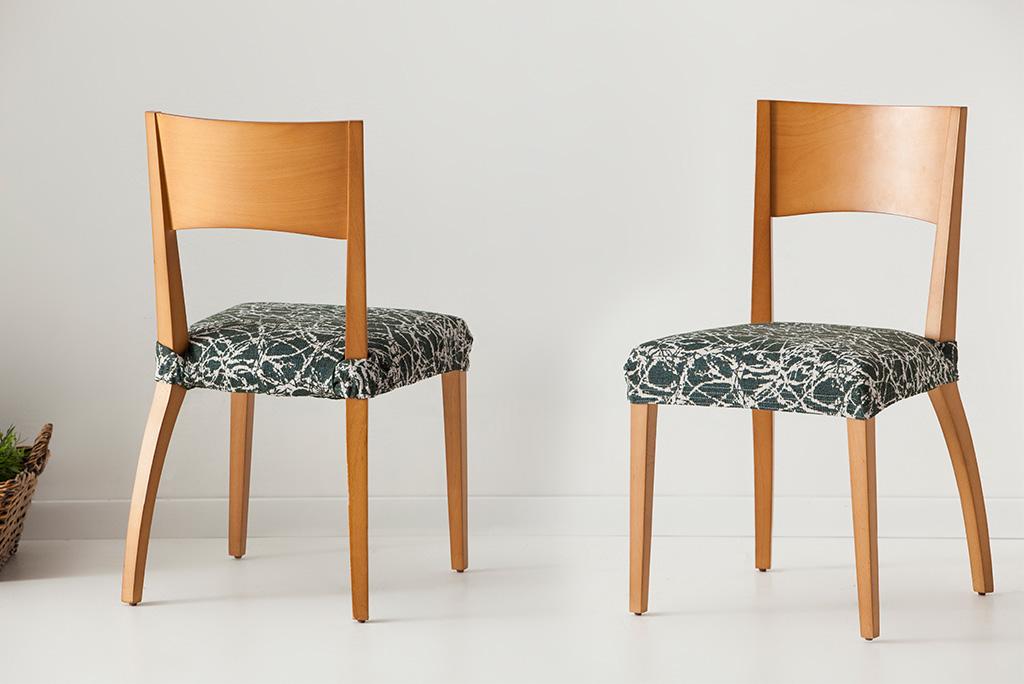 Funda para silla modelo nica fundas el sticas para proteger tus sillas - Fundas elasticas para sillas ...