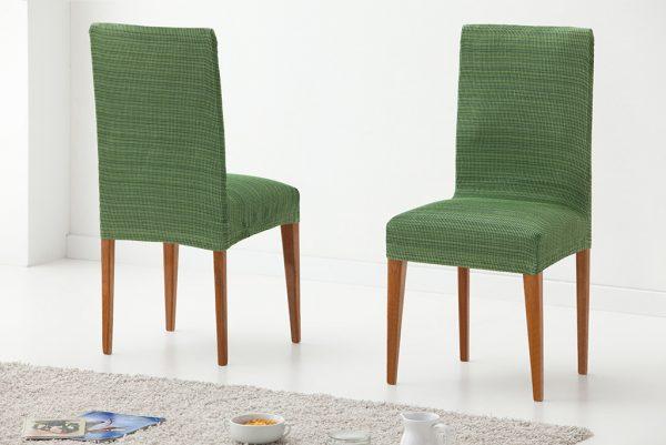 Funda para silla con respaldo, modelo Rústica