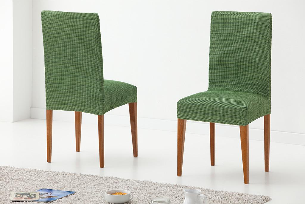 Funda para silla con respaldo modelo r stica funda para silla el stica - Fundas elasticas para sillas ...