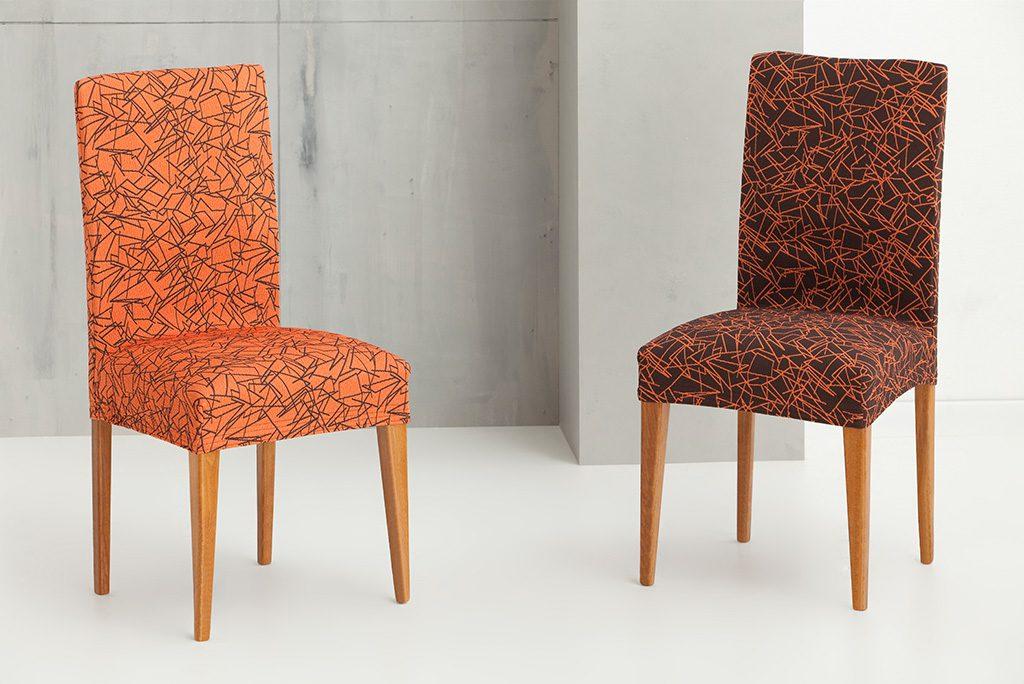 Funda para silla con respaldo modelo sirocco fundas - Fundas elasticas para sillas ...