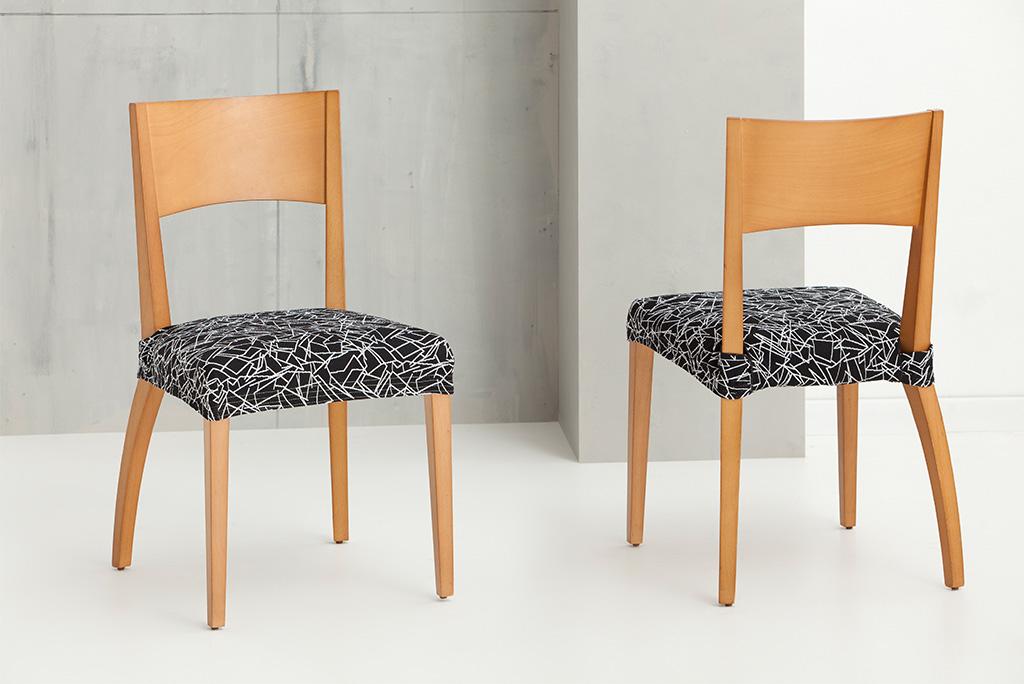 Funda para silla modelo sirocco fundas el sticas ajustables para silla - Fundas elasticas para sillas ...
