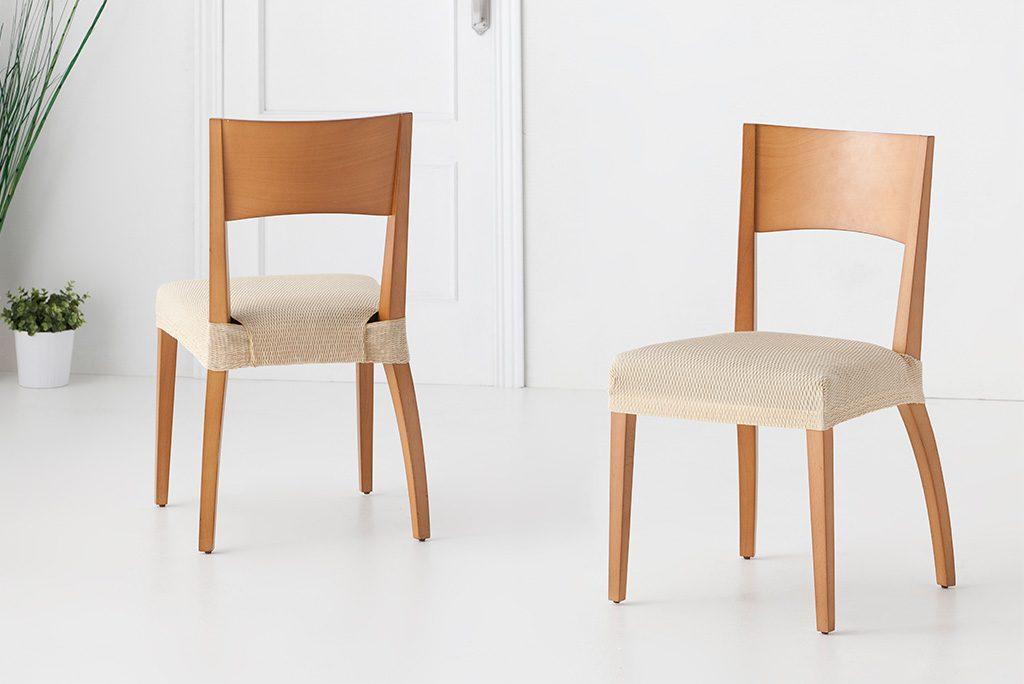 Funda para silla con respaldo modelo t nez protege tus - Fundas elasticas para sillas ...