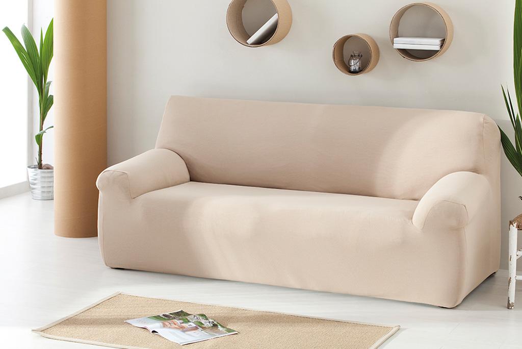 Funda de sof el stica modelo bimba funda extrasuave for Fundas sofa carrefour