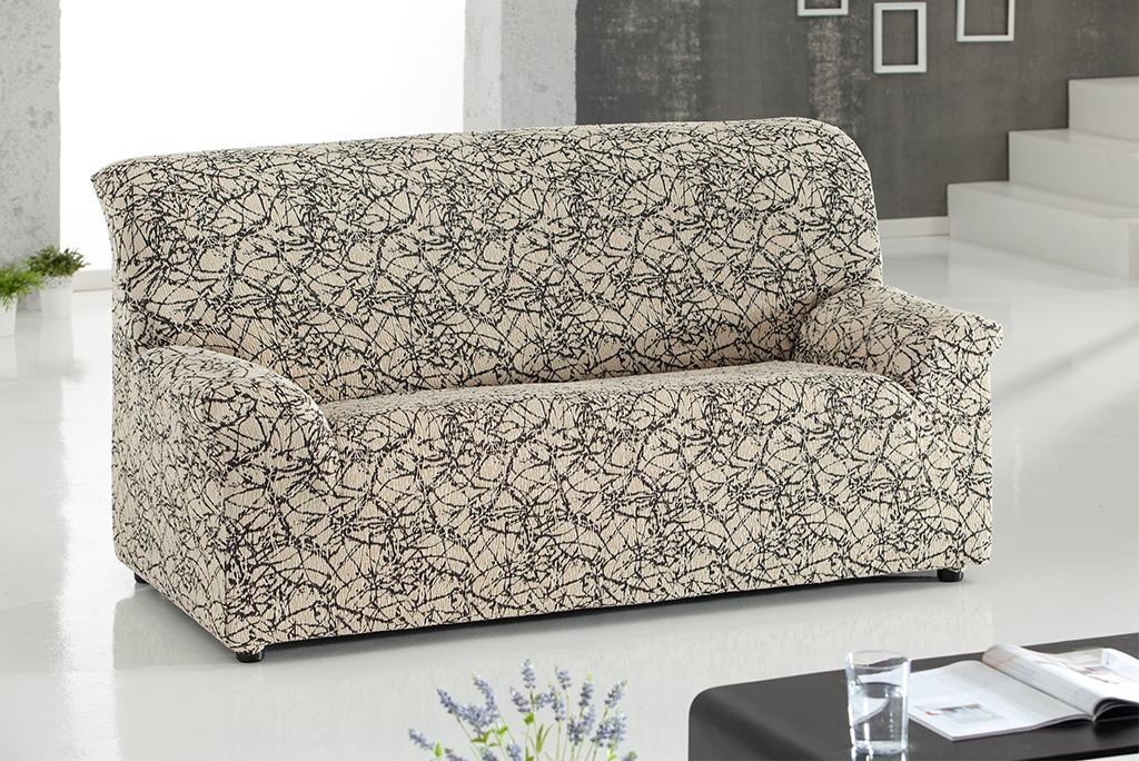 Funda de sof el stica modelo nica fundas el sticas para su sof - Funda sofa elastica ...