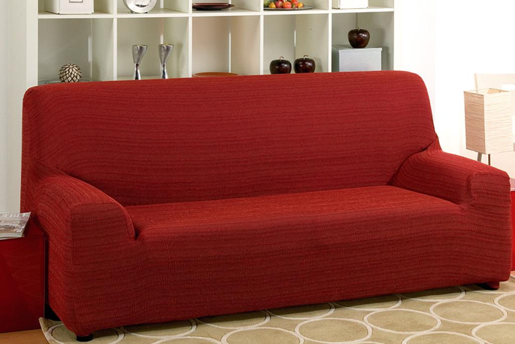 Funda de sofá elástica, modelo Rústica. Fundas sofás elásticas.