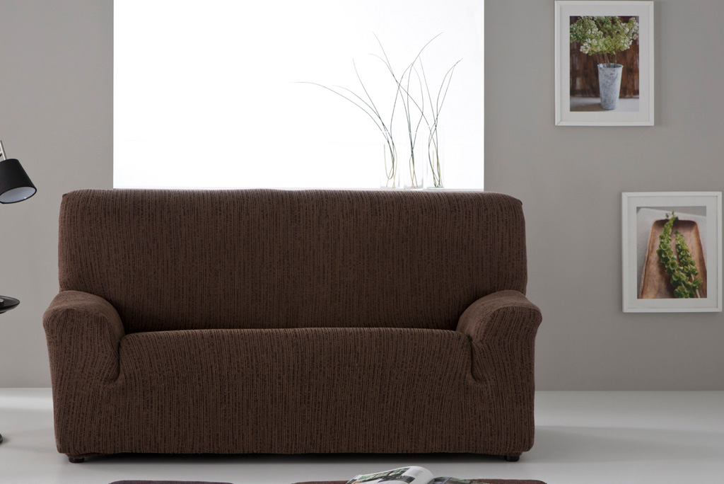 Funda de sof el stica modelo tibet gran variedad en - Fundas sofa elasticas ...