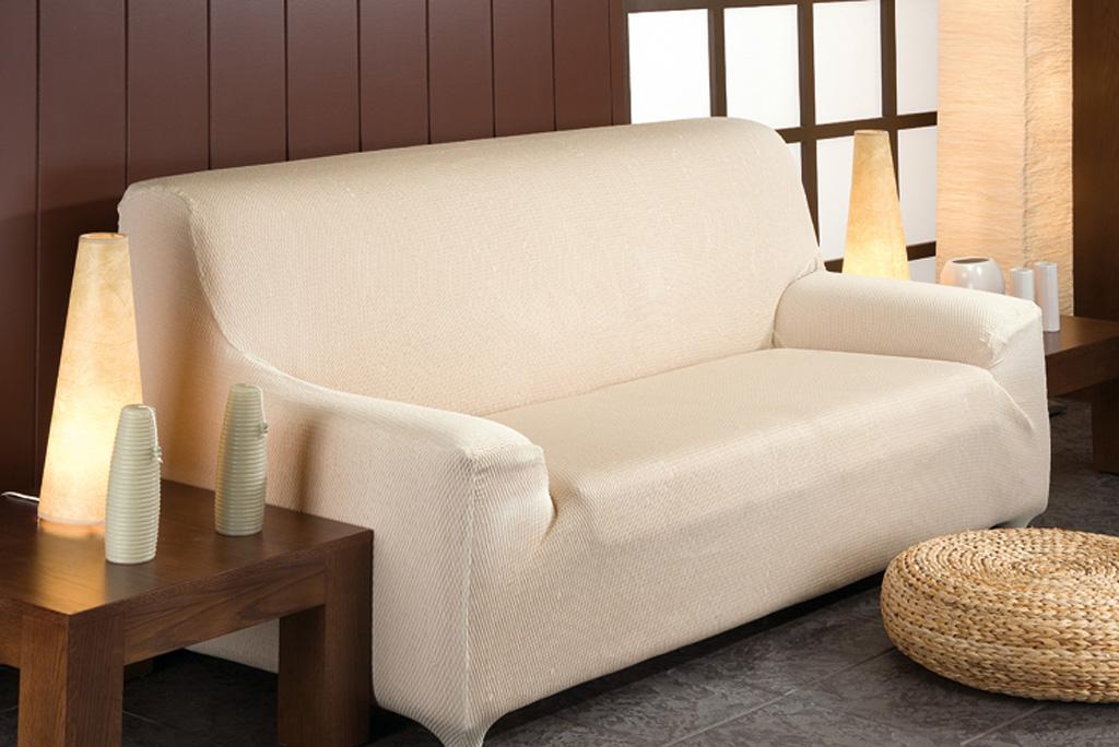 Funda de sof el stica modelo t nez fundas para sof s el sticas - Funda sofa elastica ...