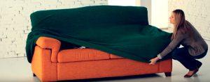 Instalación fundas de sofá