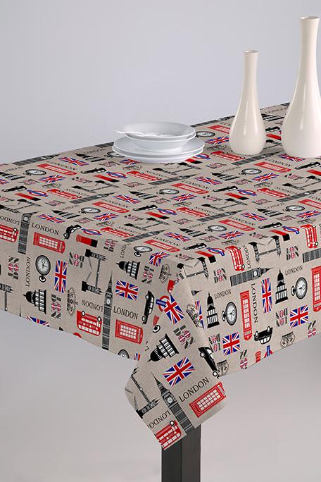 Mantel antimanchas, modelo England