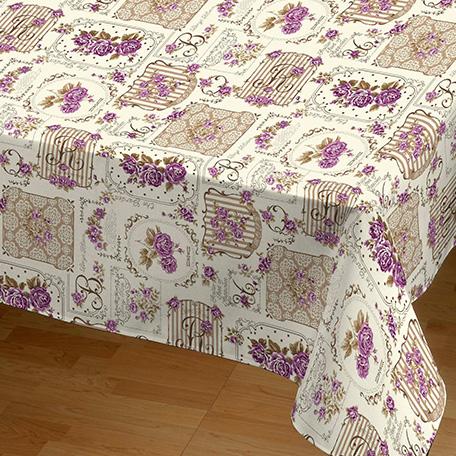 Mantel antimanchas, modelo Garden lila