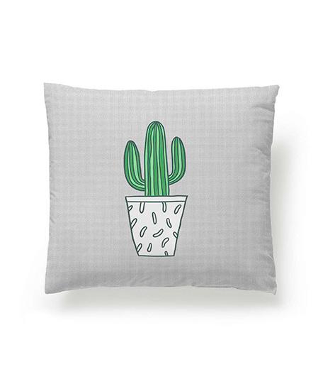 Funda cojín digital, modelo Cactus, cara A