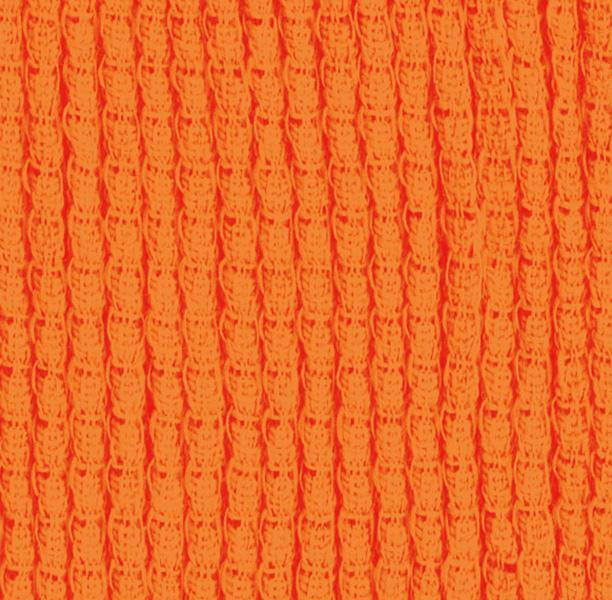 Funda elástica ajustable, modelo Candela naranja