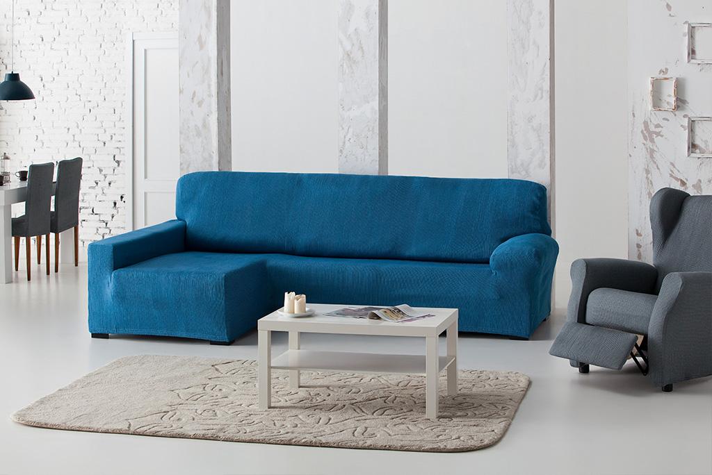 Funda de sof el stica chaiselongue modelo candela fundas - Fundas de sofa elasticas ...