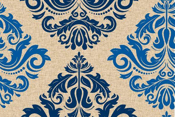 Metrajes, telas por metros, Atenas azul