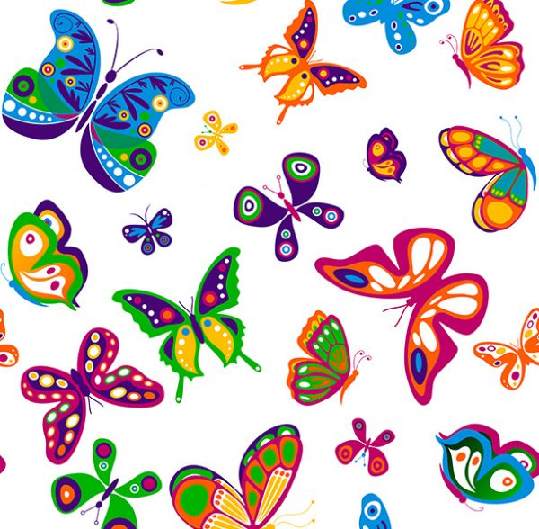 Metrajes, telas por metros, Butterfly