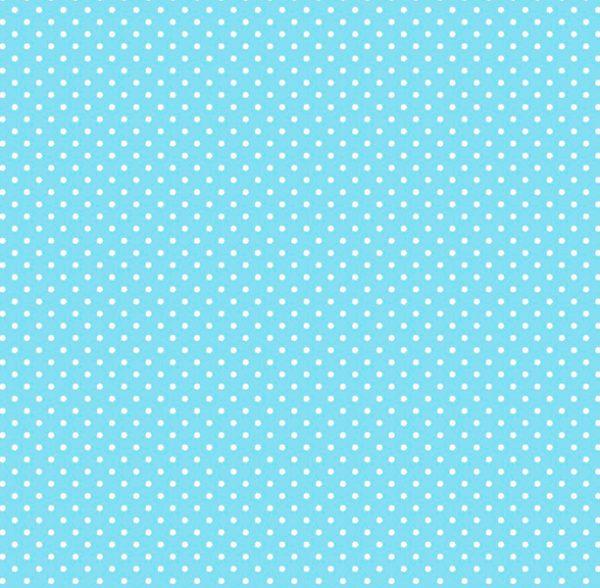 Metrajes, telas por metros, Candy circle azul